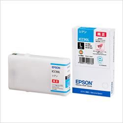 EPSON ICC90L インクカートリッジ シアン Lサイズ 純正