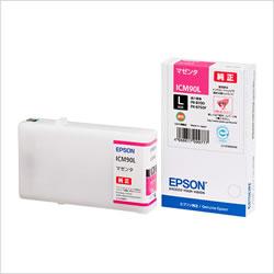 EPSON ICM90L インクカートリッジ マゼンタ Lサイズ 純正