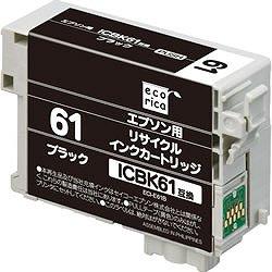 エコリカ ECI-E61B リサイクルインク ブラック