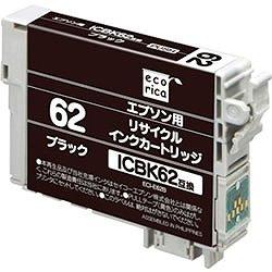 エコリカ ECI-E62B リサイクルインク ブラック