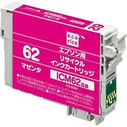 エコリカ ECI-E62M リサイクルインク マゼンタ