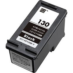 エコリカ ECI-HP130B-V リサイクルインク 黒