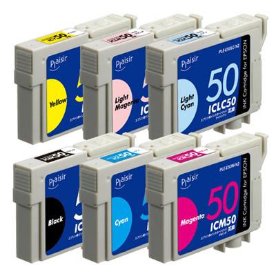Plaisir PLE-E506P-N2 インク 6色パック 汎用品
