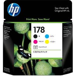 HP CR282AA HP178 5色マルチパック