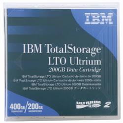 IBM 08L9870 Ultrium2 LTOデータカートリッジ