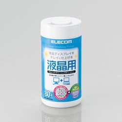 ELECOM WC-DP80N3 液晶用ウェットクリーニングティッシュ