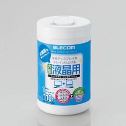 ELECOM WC-DP110LN3 液晶用ウェットクリーニングティッシュ