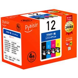 Plaisir PLE-BR124P インク 4色パック 汎用品