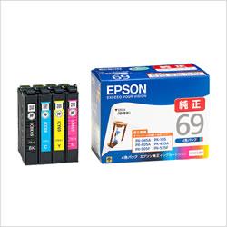 EPSON IC4CL69 インクカートリッジ 4色パック 純正