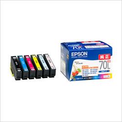 EPSON IC6CL70L インクカートリッジ 増量6色パック 純正