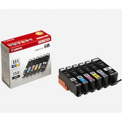 CANON 6552B004 BCI-351+350/6MP インクタンク マルチパック