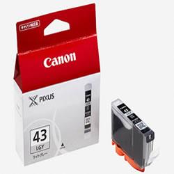 CANON 6383B001 BCI-43LGY インクタンク ライトグレー