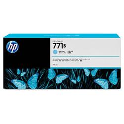 HP B6Y04A HP771B インクカートリッジ ライトシアン 顔料系 純正