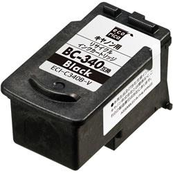 エコリカ ECI-C340B-V リサイクルインク ブラック
