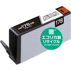 エコリカ ECI-HP178B-V リサイクルインク ブラック