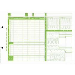 オービック 5162 単票源泉徴収簿(横型)