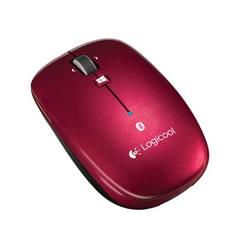 ロジクール M557RD Bluetooth Mouse m557 レッド