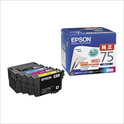 EPSON IC4CL75 インクパック 4色パック 大容量