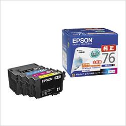 EPSON IC4CL76 インクパック 4色パック 大容量