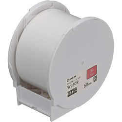 KINGJIM WL50R GRANDテープカートリッジ 50mm 赤