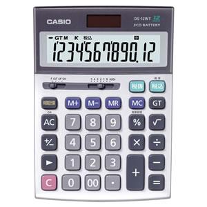 CASIO DS-12WT-N 本格実務電卓 12桁