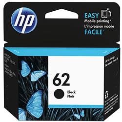 HP C2P04AA HP62 インクカートリッジ 黒 純正
