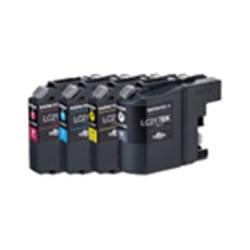 BROTHER LC217/215-4PK インクカートリッジ 大容量タイプ お徳用4色パック