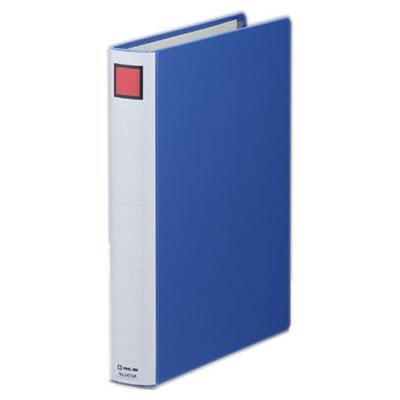 KINGJIM 2473AB キングファイルスーパードッチ <脱・着>イージー A4タテ型 とじ厚30mm 10冊セット 青