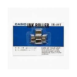 CASIO IR-40T プリンタ電卓用インクローラー 2色印字