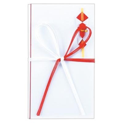65-511 紅白五本 花結金封 汎用品