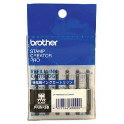BROTHER PRINK6B 使いきり補充インク 黒
