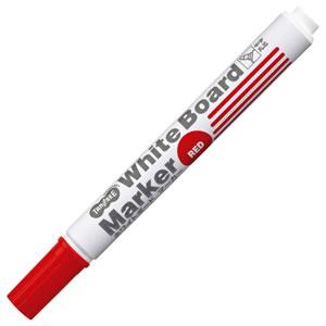 TS-WBMBG-R ホワイトボードマーカー 赤 中字・丸芯 汎用品