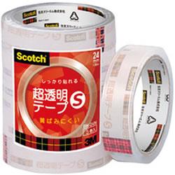 3M BK-24N 超透明クリアテープ 24mm×35m
