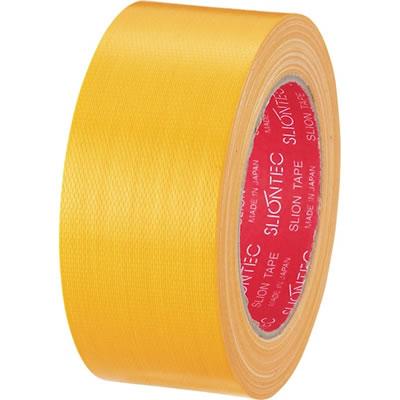スリオンテック 343702KL カラー布テープ 50mm×25m 黄