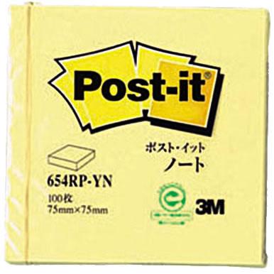 3M 654RP-YN ポストイットノート イエロー