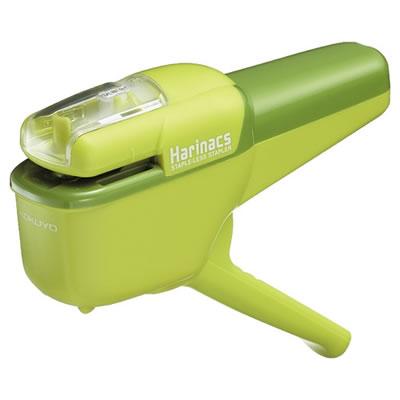 コクヨ SLN-MSH110G 針なしステープラー ハリナックス ハンディ10枚 緑