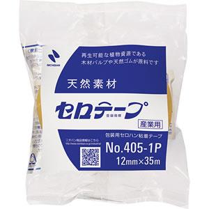 ニチバン 4051P-12 産業用セロテープ 大巻 12mm×35m