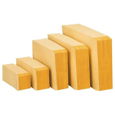 ピース 481-80 R40再生紙クラフト封筒 長3 70g/m2 〒枠あり 業務用パック1000枚