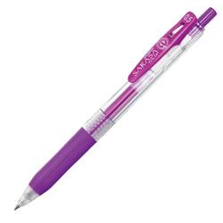 ゼブラ JJ15-PU ノック式ジェルボールペン サラサクリップ0.5mm 紫