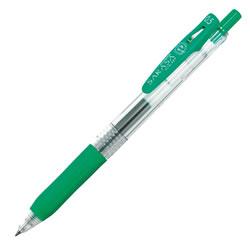 ゼブラ JJ15-G ノック式ジェルボールペン サラサクリップ0.5mm 緑