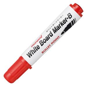 モナミ 10503 ホワイトボードマーカーB 丸芯 赤
