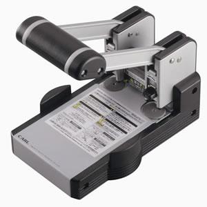 カール事務器 HD-410N 2穴 強力パンチ 100枚穿孔