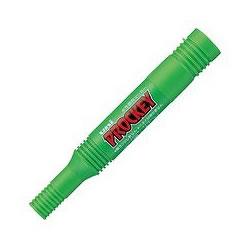 三菱鉛筆 PM150TR.5 水性ツインサインペン プロッキー 詰替えタイプ 黄緑