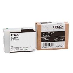 EPSON ICBK89 インクカートリッジ フォトブラック 純正