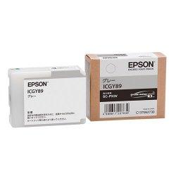 EPSON ICGY89 インクカートリッジ グレー 純正