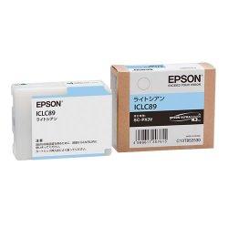 EPSON ICLC89 インクカートリッジ ライトシアン 純正