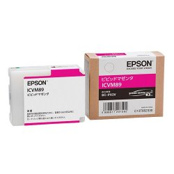 EPSON ICVM89 インクカートリッジ ビビッドマゼンタ 純正