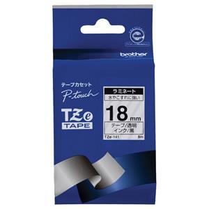 BROTHER TZe-141 ラミネートテープ 18mm