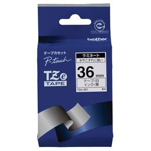 BROTHER TZe-261 ラミネートテープ 36mm