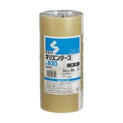 積水化学 P60T03 オリエンテープ No.830 50mm×50m 透明